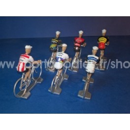 Set of 6 Cofalu 2019-2020 Cyclo-cross teams
