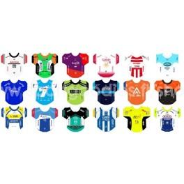 Continental teams 2019 jerseys stickers