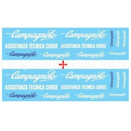 Decals Campagnolo - Scale: 1/43 - Set of 2