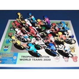 Cycling figure 18 cyclistes miniatures World Tour 2019 Tour de france Giro