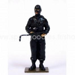 RAID French Police Elite Unit wearing hood - Scale 1/32