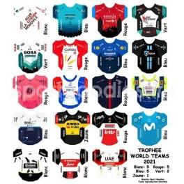 2021 World Tour Team jersey Trophy