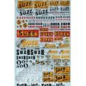 Decals Suze 1/43