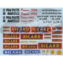 Decals Ricard 1/43
