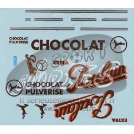 Decals Chocolat Poulain 1/43