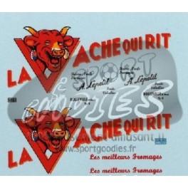 Decals La vache qui rit (old design) 1/43