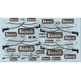 Decals Baudou boots 1/43