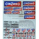 Decals Cinzano 1/43