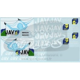 Decals JAV wash powder 1/43
