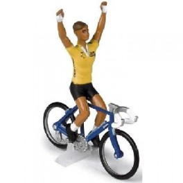 Tour de France Yellow Jersey Credit Lyonnais cyclist