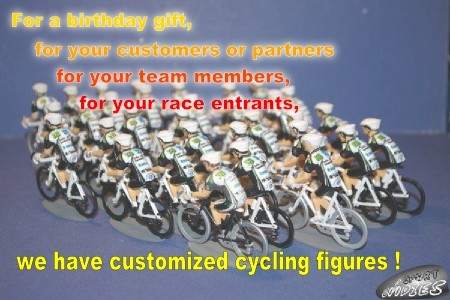 Customized cycling figures